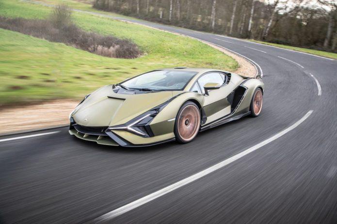2021 Lamborghini Sián Previews Lambo's Hybrid Future