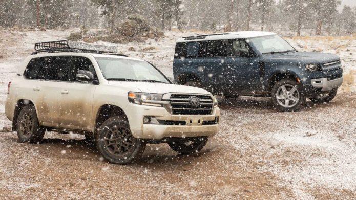 2021 Toyota Land Cruiser Vs 2021 Land Rover Defender Comparison: Real Off-Roading