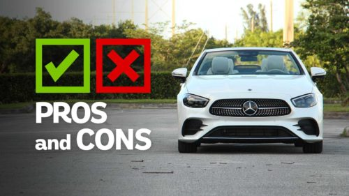 2021 Mercedes-Benz E-Class Cabriolet: Pros And Cons
