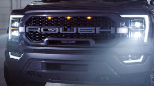 2021 Roush F-150 has updated suspension and performance upgrades