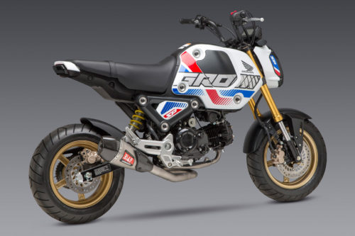 Yoshimura Accessories For 2022 Honda Grom: Exhausts and More