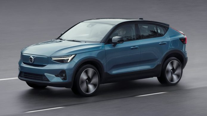 Volvo unveils the electric 2022 C40 Recharge with Android-powered in-car tech