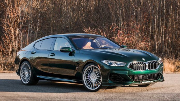 2022 BMW Alpina B8 Gran Coupe Debuts As Posh Competition For M8