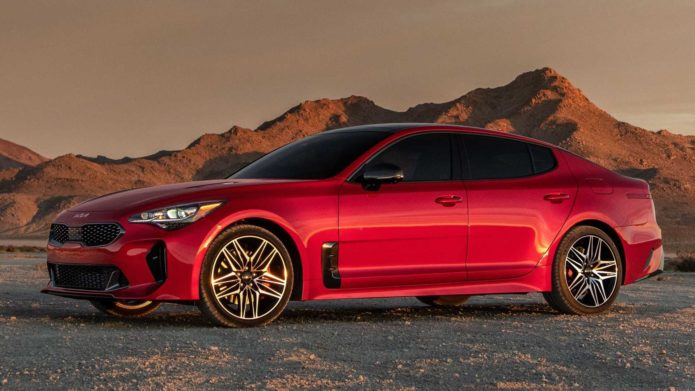 2022 Kia Stinger Makes US Debut With Fresh Face And More Horsepower