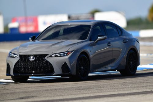 Lexus IS 500 F Sport Performance Launch Edition Debuts In Incognito Color