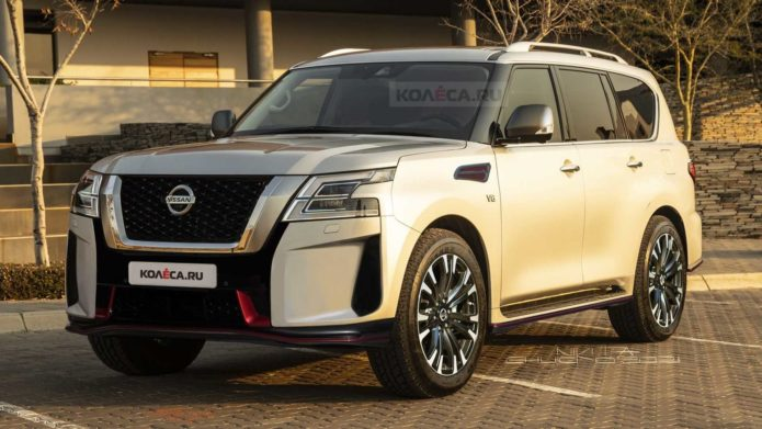 2022 Nissan Patrol Nismo Revealed With 428 Horsepower And F1 Fog Light