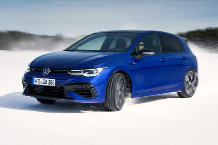 New Volkswagen Golf R unleashed with drift mode