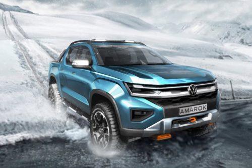 Volkswagen shares details on its new Amarok truck