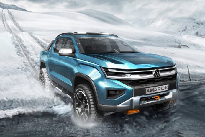 Next-gen 2023 Volkswagen Amarok previewed