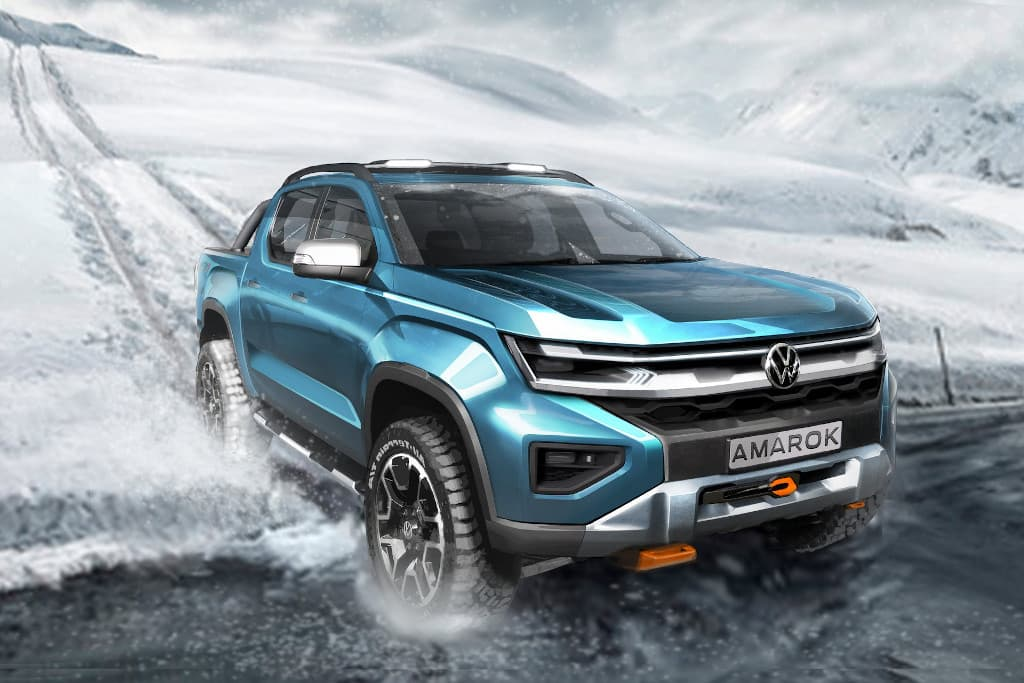 Next-gen 2023 Volkswagen Amarok previewed