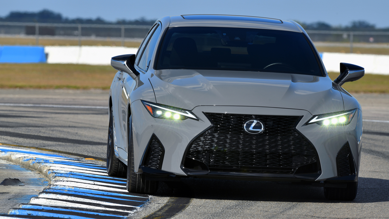 2022 Lexus IS 500 F Sport Launch Edition is limited to 500 units