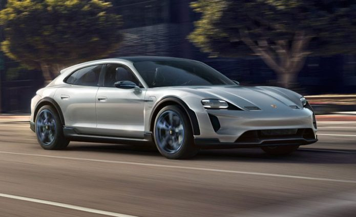 Porsche Debuts All-New Electrified 2021 Taycan Cross Turismo