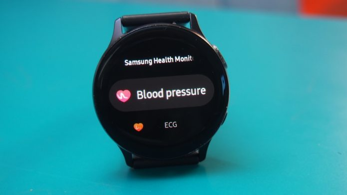 How to take blood pressure on Samsung Galaxy smartwatches