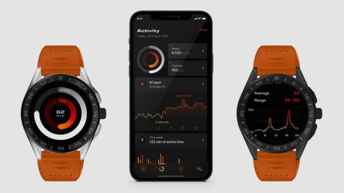 Tag Heuer Connected update adds new wellness and golf smarts