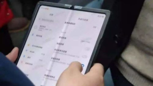 Xiaomi MIX foldable phone leaked in real-world photos