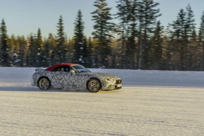 Sportier 2022 Mercedes-AMG SL-Class to Add AWD
