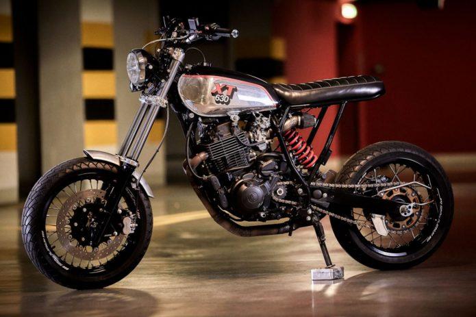 86 Gear Motorcycles Yamaha XT630 Supermoto: Restomod Special
