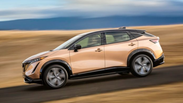 Nissan Ariya electric SUV revealed in new images — and it looks stunning