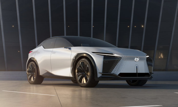 First look at Lexus LF-Z Electrified reveals rapid acceleration and major display shift