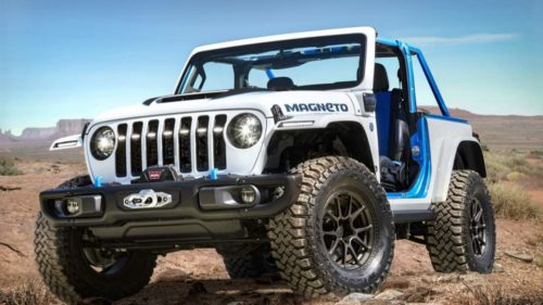 Jeep Magneto concept is a six-speed Wrangler EV that bucks the status-quo