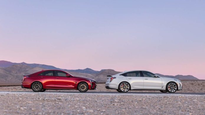 Cadillac's first production V-Series Blackwing sedans raise $430,000 at auction