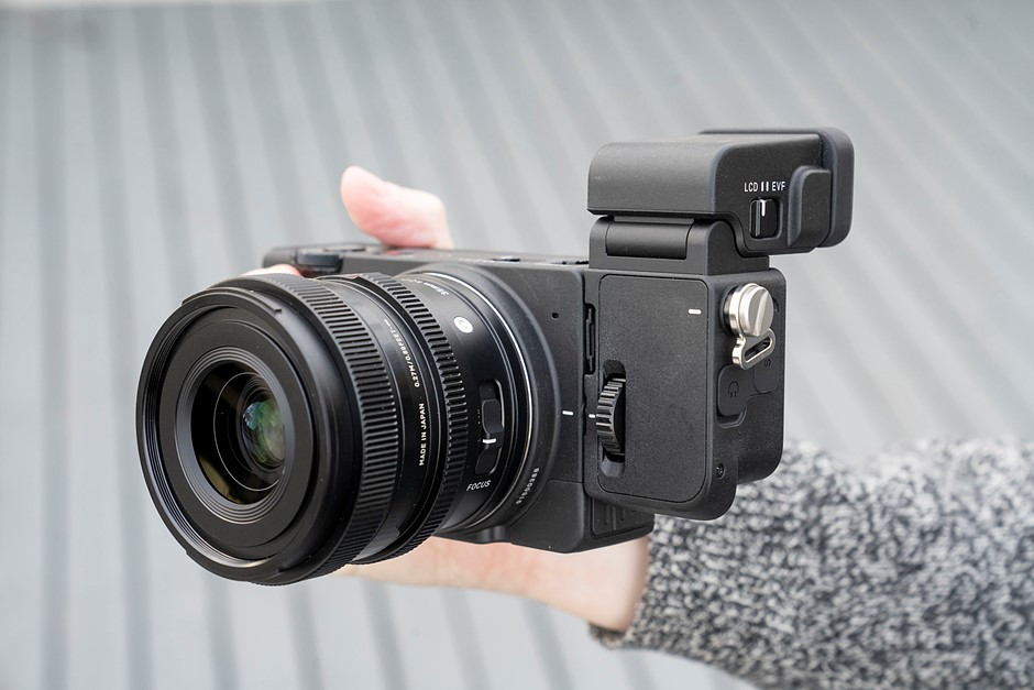 Hands-on with the Sigma fp L and its new viewfinder