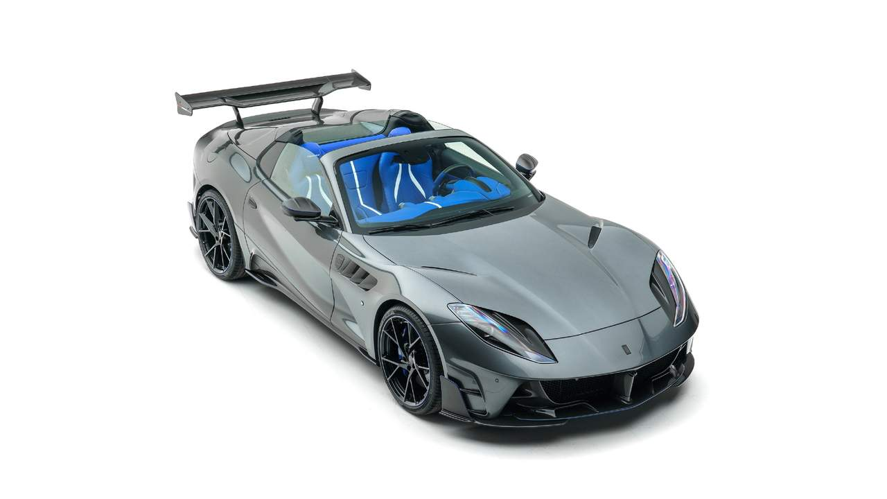 2021 Mansory Stallone GTS is a Ferrari 812 convertible with 830HP