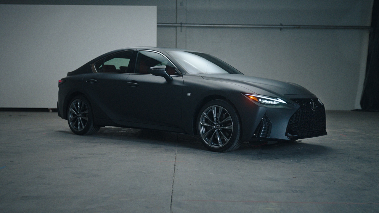 This Lexus IS Wax Edition is perfect for vinyl purists