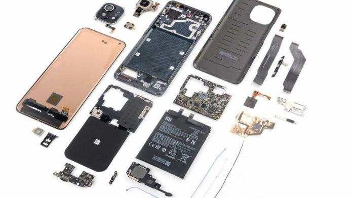 Xiaomi Mi 11 iFixit teardown shows the hidden cost of features
