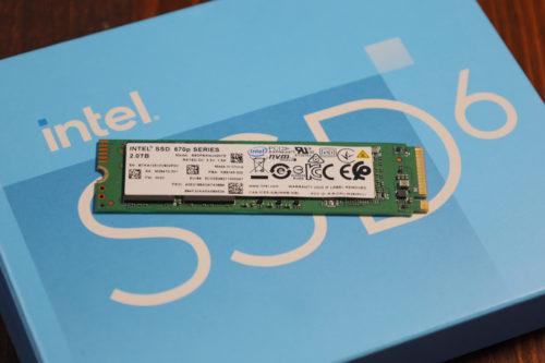 Intel 670p 2TB M.2 NVMe SSD Review