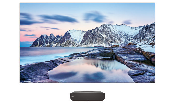 Hisense L5F Series Laser Cinema offers a complete home theater solution