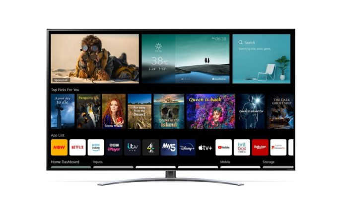 Freeview Play is back on the menu for LG's 2021 TV range