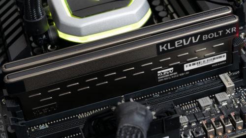 Klevv Bolt XR DDR4-3600 C18 2x16GB Review