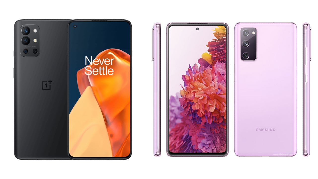 OnePlus 9R vs Galaxy S20 FE: Which one to go for?