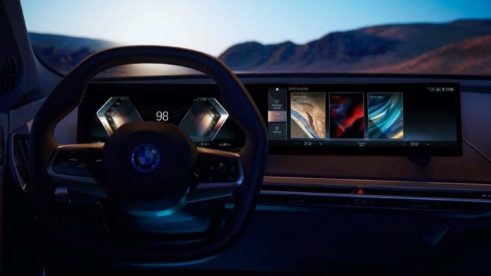 BMW iDrive 8 embraces big screens, fewer buttons, 5G and the road to autonomy