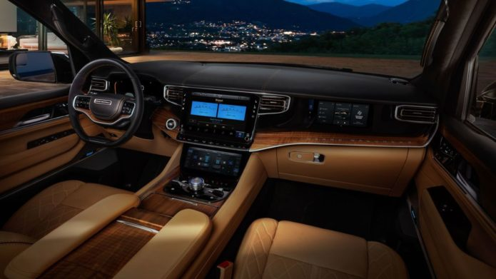 McIntosh's reference car audio system revealed in 2022 Jeep Grand Wagoneer