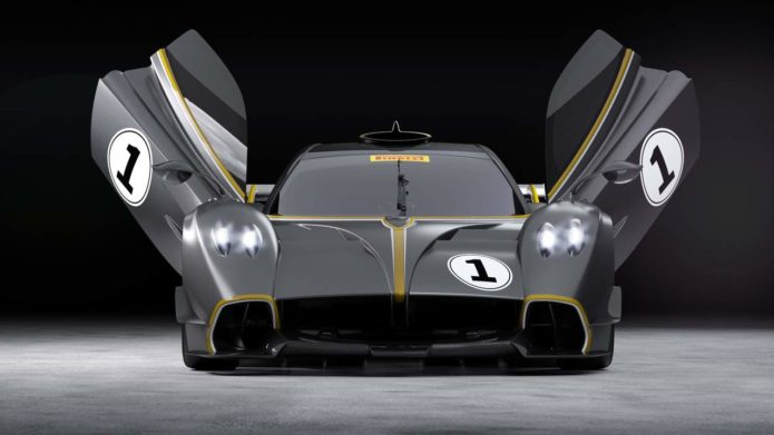Pagani Huayra R is a $3.1M sendoff with an 838HP V12 engine