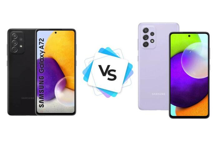 Samsung Galaxy A72 5G vs Samsung Galaxy A52 5G