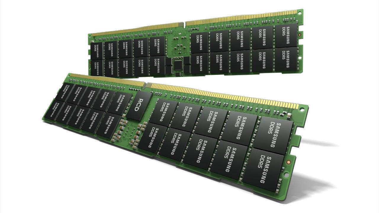 Samsung just revealed a 512GB DDR5 RAM module using HKMG