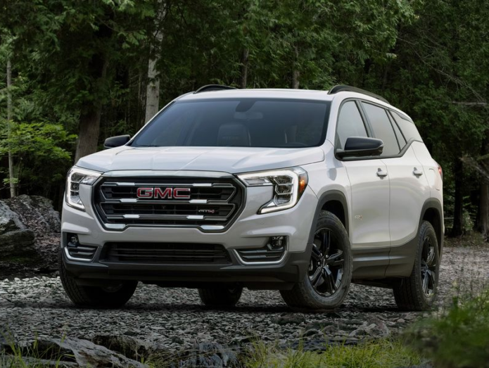2022 GMC Terrain Refreshed, Adds AT4 Off-Road Model