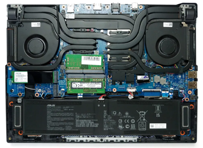Inside ASUS ROG Strix G15 G513 – disassembly and upgrade options