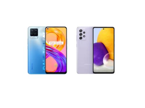 realme 8 pro vs Samsung Galaxy A72: Specs Comparison