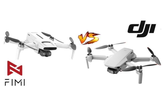 FIMI X8 MINI vs DJI Mini 2: Best Drones under 250grams