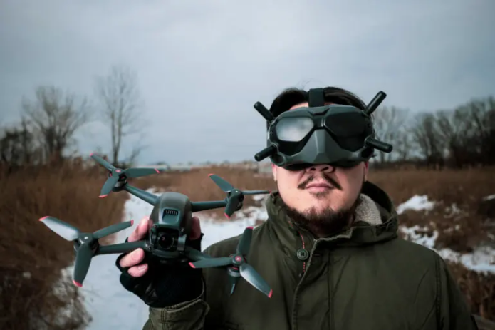 The DJI FPV Makes Photography into a First Person Shooter