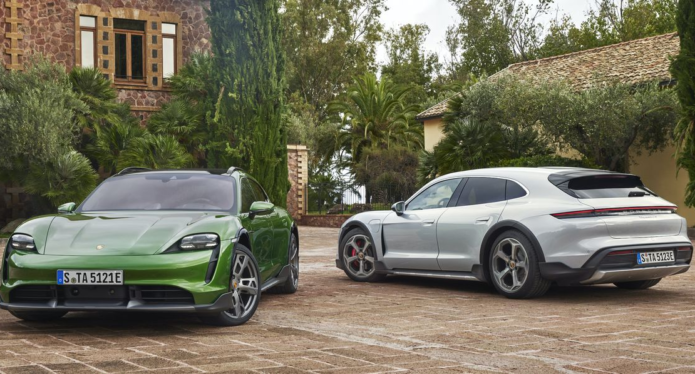 The Porsche Taycan Cross Turismo: Tomorrow's Sports Car, But Make It Outback