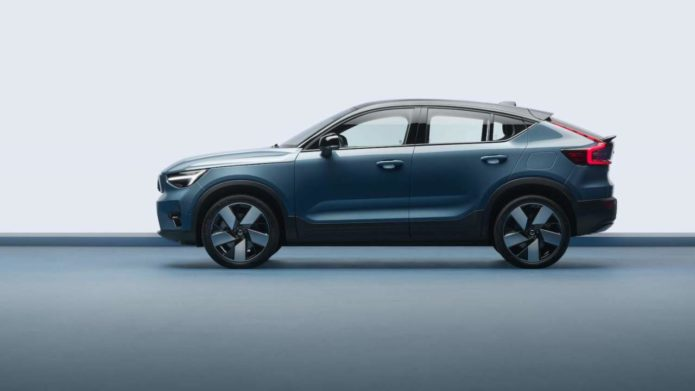 2022 Volvo C40 Recharge electric crossover coupe aims to upend car sales