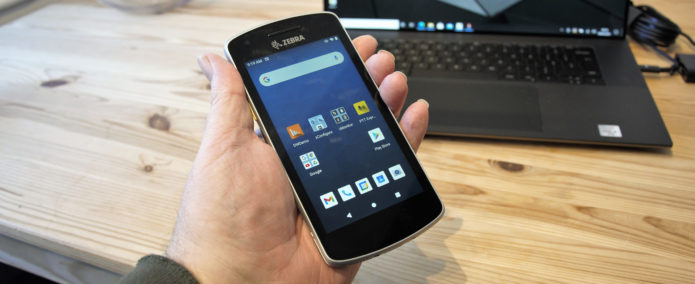 Hands on: Zebra EC55 Enterprise Mobile Computer review