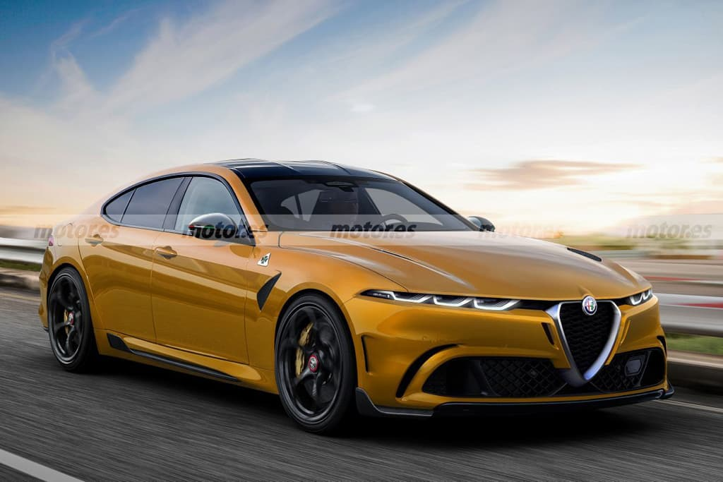 Alfa Romeo reportedly working on BMW 5 Series rival
