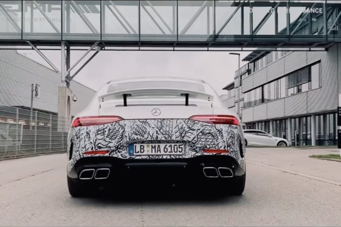 Mercedes-AMG GT 73e 4-Door Coupe to pack 600kW