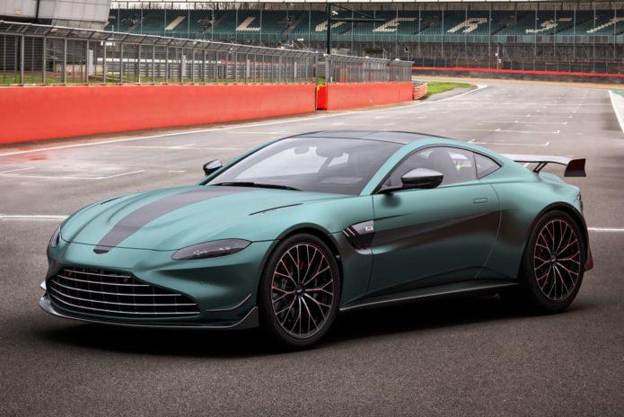 Track-ready Aston Martin Vantage F1 Edition revealed
